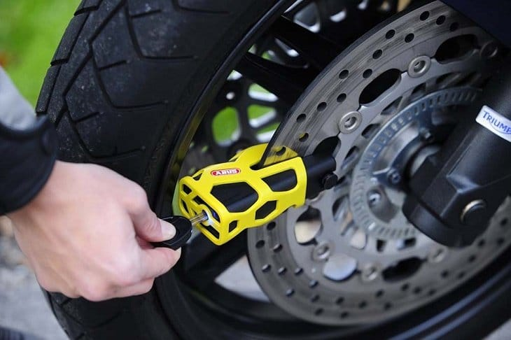 Wheel Locks For Motorcycles 2019
