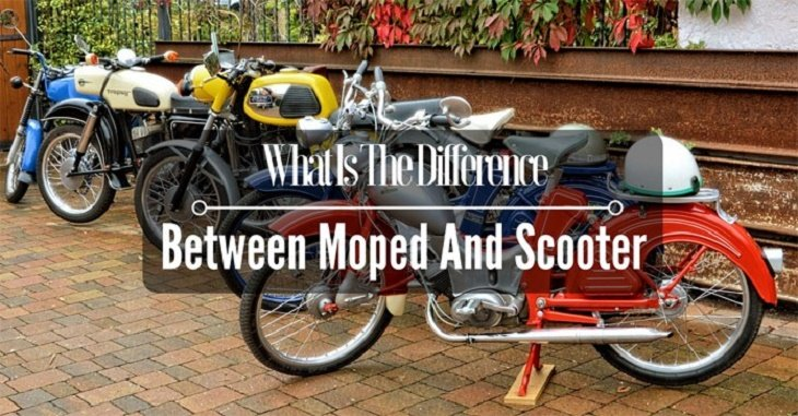 Difference Between Moped And Scooter