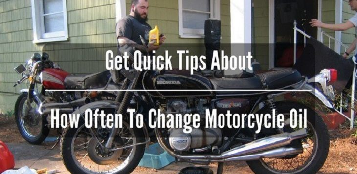 Get Quick Tips About How Often To Change Motorcycle oil