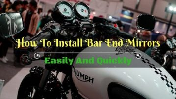 How To Install Bar End Mirrors Easily
