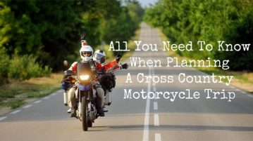 Planning A Cross Country Motorcycle Trip