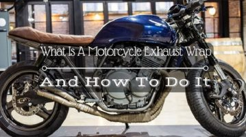 What Is A Motorcycle Exhaust Wra