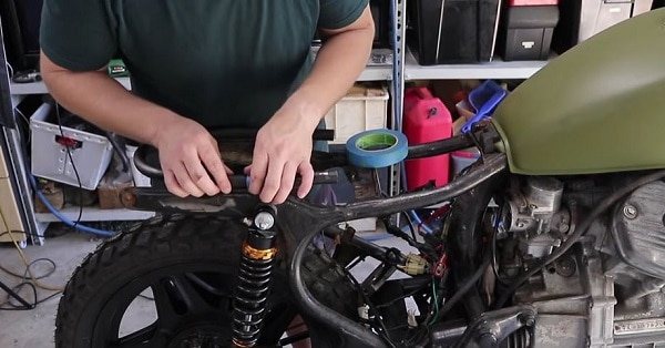 how to build a motorcycle from scratch with not much money