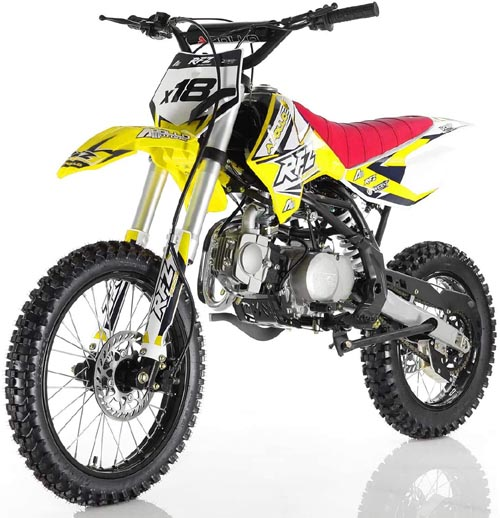 APO 125cc - Best Adults 4 Stroke Dirt Bike for Trail Riding