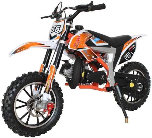 Best Starter Dirt Bike for 13 year old - X-PRO Bolt 50cc