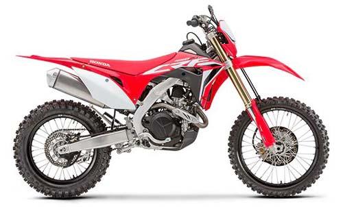 Best Starter Dirt Bike for Adults - Honda 2020 CRF450X