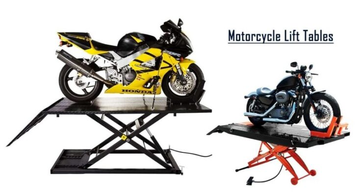 professional motorcycle lift table